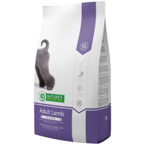 NATURES PROTECTION DOG ADULT WITH LAMB  4 KG
