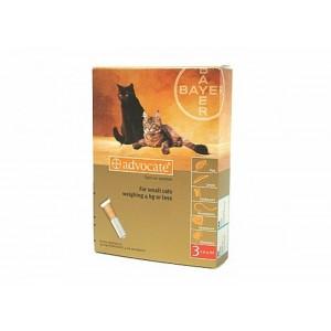 Advocate 40 Pisica | Pipeta antiparazitara Advocate (0 - 4 kg) 3 pipete