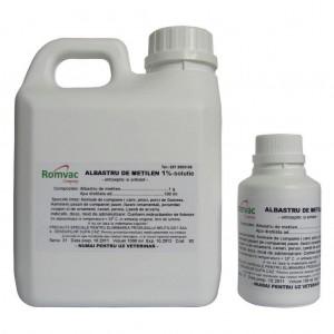 ALBASTRU DE METILEN 1 % Solutie 100 ml