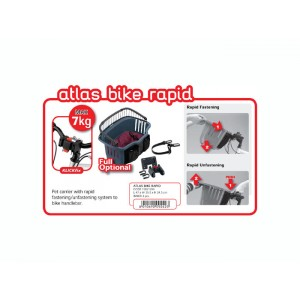 ATLAS BIKE - Cos de transport pentru bicicleta