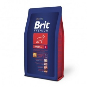 Brit Premium Adult Large, 3 kg
