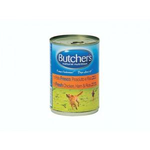 Butchers - Pui Sunca si Orez - 390 g