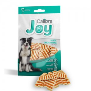 Joy Treats DOG Dental Chicken Waves 80 g