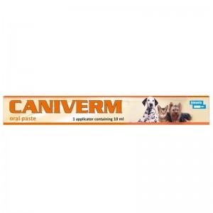 Caniverm pasta orala, seringa, 10 ml