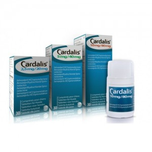 CARDALIS 10 MG / 80 MG - 30 TABLETE