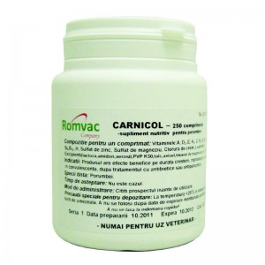 Supliment nutritiv CARNICOL 25 CP