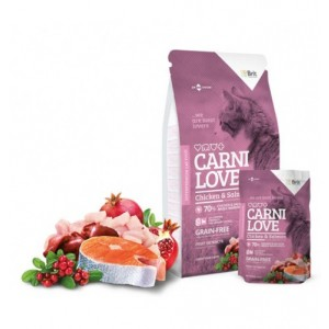 CARNILOVE CAT CHICKEN AND SALMON 7 Kg
