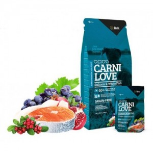 CARNILOVE SALMON AND WHITE FISH 1,5 Kg