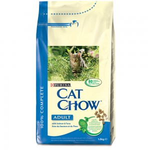 Cat Chow Adult Ton, Somon