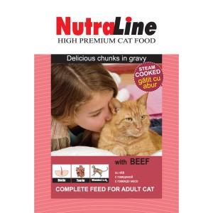 Nutraline Classic Pisica Vita 100 g