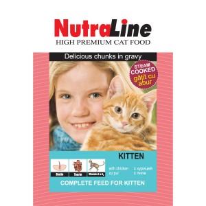 Nutraline Classic Kitten plic 100 g