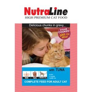 Nutraline Classic Pisica Ton 100 g