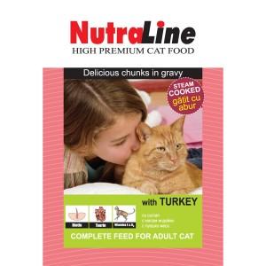 Nutraline Classic Pisica Curcan 100 g
