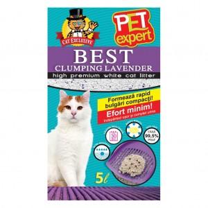 NISIP PET EXPERT CLUMPING LAVANDA 5 L