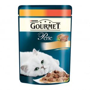 Gourmet Perle DUO PUI, VITA 85 g