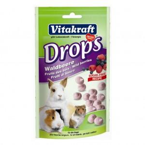 Drops Rozatoare cu Fructe de Padure 75 g