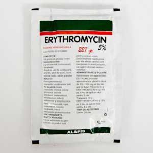Erythromycin 5% Pulbere Hidrosolubila 227 g