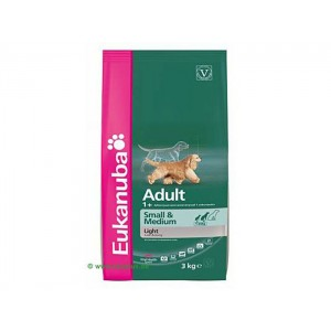 Eukanuba Adult Light Small & Medium Breed 15 Kg