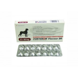 Fortekor 20 mg (21-80 kg) 14 tablete