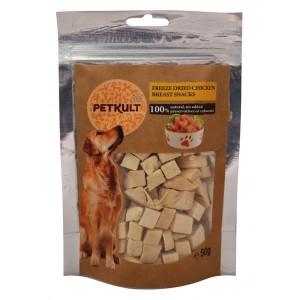 Petkult Dog Snack Piept Pui 50 gr