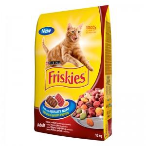 Friskies Pisica Adult CARNE 10 kg