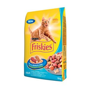 Friskies Pisica Adult Somon 300 g