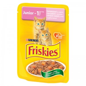 Friskies Pisica Plic Junior 100 g