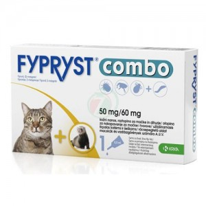 Fypryst Combo Cat 50 mg x 3 pip