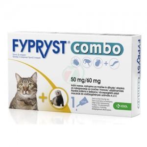 Fypryst Combo Cat 50 mg x 3 pip