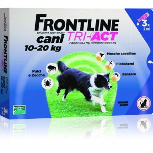 Frontline Tri-Act 10-20 kg 3 pipete