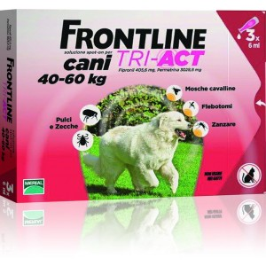 Frontline Tri-Act 40-60 kg 3 pipete