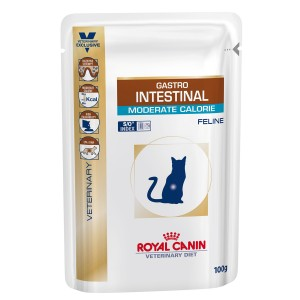 Royal Canin Gastro Intestinal Moderate Calorie Cat 12 plicuri x 100 g