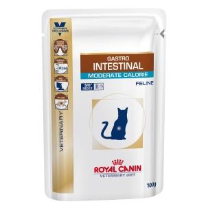 Royal Canin Gastro Intestinal Moderate Calorie Cat 12 plicuri x 100 g