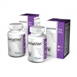 GERIATIVET DOG CAINE 350MG - 45 TABLETE