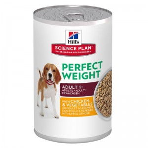 Hill's SP Canine Perfect Weight cu pui si legume 363 g