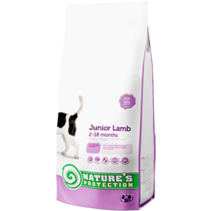 NATURES PROTECTION DOG JUNIOR WITH LAMB 7,5 KG