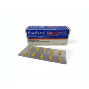Karsivan 100 mg 60 tablete