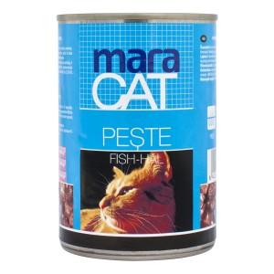 Maracat Pisica Conserva Peste 410 g