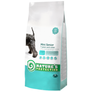 NATURES PROTECTION MINI  2 KG SENIOR DOG
