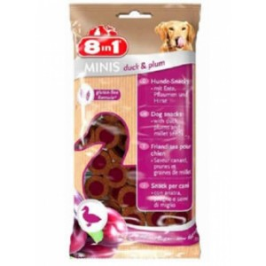 8in1 RECOMPENSE MINIS RATA/PRUNE 100 G