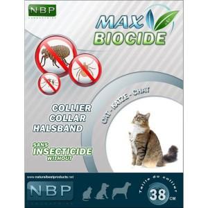 Zgarda Antiparazitara NBP Pisica 35 cm