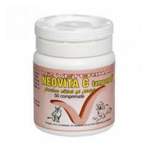 Neovita Vitamina C tamponata 50 cp