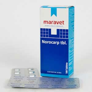 Norocarp 20 mg 10 tablete