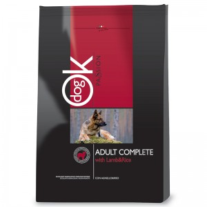 OK Dog Passion Adult Complete Lamb 12,5 kg
