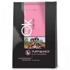 Ok Dog Passion Puppy & Junior 12,5 Kg