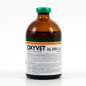 Oxyvet 20% L.A. INJ 100 ml