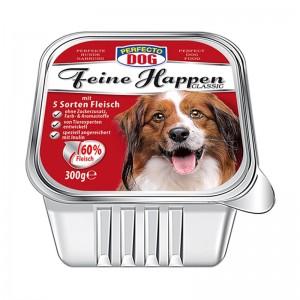 Perfecto Dog Pateu cu 5 feluri de carne 300 g