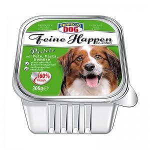 Perfecto Dog Pateu cu curcan, paste si legume 300 g