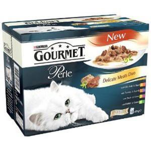 Gourmet PERLE DUO MARIN 4*85 g