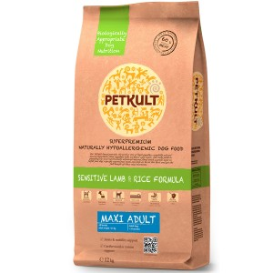 Petkult Maxi Adult Sensitive Miel&Orez 12kg
